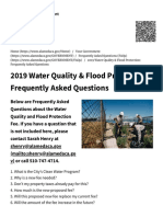2019 Water Quality & Flood Protection_ Frequently Asked Questions