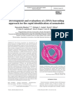Development and Evaluation of a DNA-Barcoding