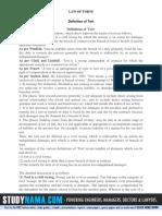 LAW OF TORTS-SEM-1.pdf
