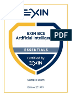 EXIN BCS AI Exam Guide