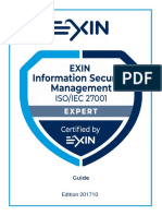 EXIN Information Security Management Expert