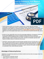Why It's Important to Outsource Your Medical Records Data Entry Services to Professionals