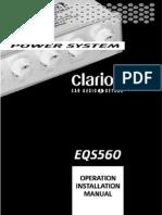 Clarion EQS560