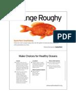 Seafood Watch Orange Roughy Fact Card