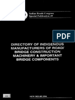 Indian Roads Congress Special Edition 29
