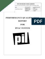 PQ REPORT OF HVAC SYSTEM