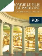 George S. Clason - L'homme le plus riche de Babylone.pdf