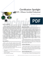 Certification Spotlight - VCP - Vmware Certified Professional