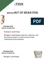 Bio of Behav - CH 02
