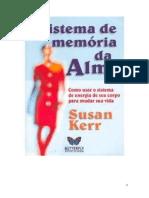 Livro Sistema de Memoria da Alma - Susan Kerr