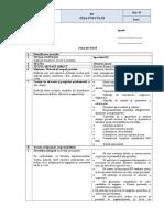 Model fisa post MRU