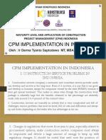 CPM di Indonesia (English)
