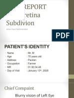 CASE REPORT Retina 1