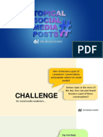 Topical Social media post examples