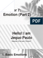 Jequo Paulo e. Lampa Chapter 7 Emotion