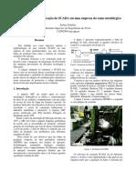 Estudo de Caso da Aplicação do SCADA em uma empresa do ramo metalúrgico