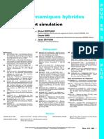 Syste__mes dynamiques hybrides - Mode__lisation et simulation - fiche documentaire