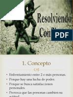Resolviendo Conflictos