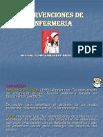 Intervenciones de Enf. (5)