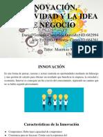 Innovación creatividad y la Idea de Negocio.