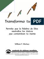 Transforma tu vida version ByN