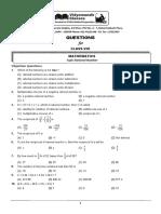 VMC Class 8 Maths Assignment