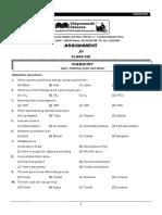VMC Class 8 Chemistry Assignment