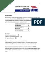 TEST INTERESES PROFESIONALES KUDER ABREVIADO