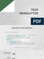 Tech Newsletter by Slidesgo.pptx