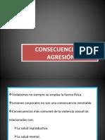 CONSECUENCIAS DE LA AGRESIÓN SEXUAL