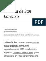 Marcha de San Lorenzo - Wikipedia, la enciclopedia libre.pdf