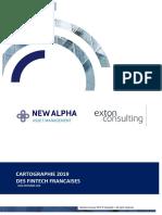 Carthographie des fintechs francaises 2019