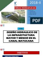 PPT OBRAS HIDRÁULICAS EXPOSICION FINAL
