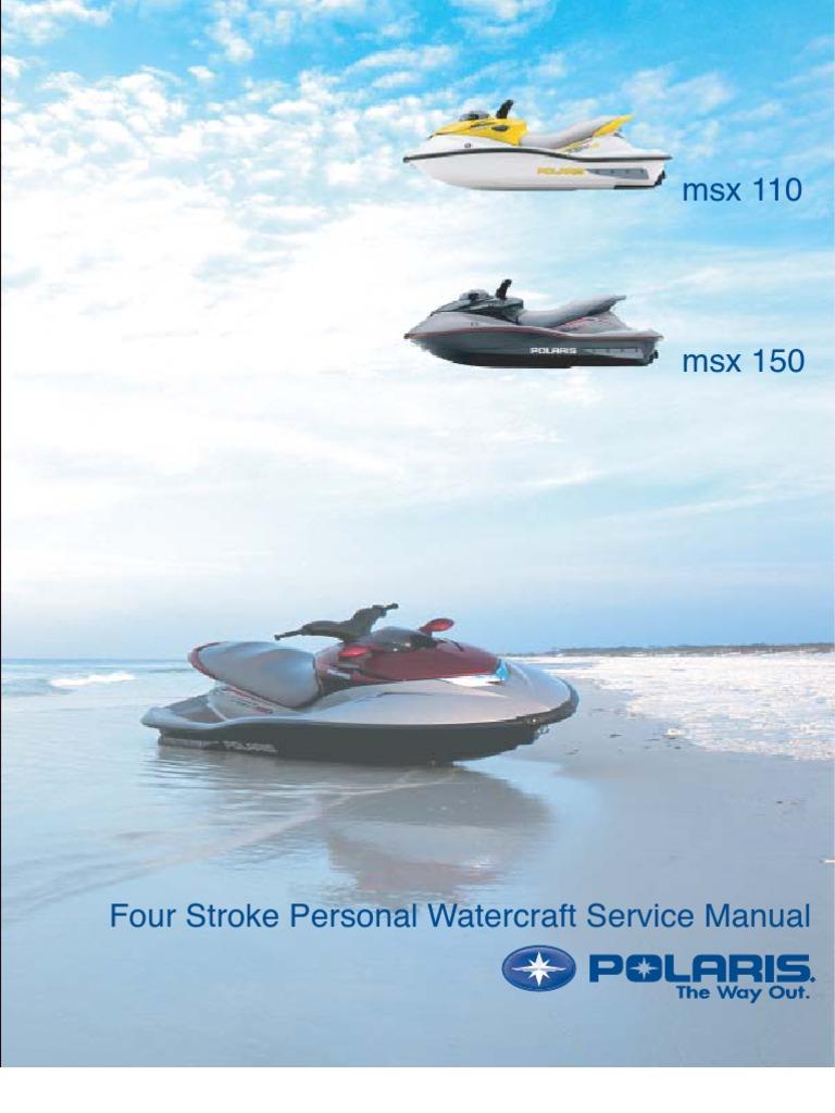 STORAGE Polaris MSX 140 2003-2004 Jet Ski Watercraft Cover JetSki 3 Seat