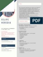 hoja de vida Ryan Felipe Heredia