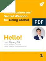 ZiKang Slide for EEC2019