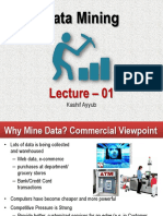 Data mining lecture