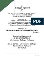 janhavi share market project.docx