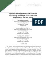SystemsDevelopmentforRecordsArchivingandDigitalDocumentsRepositoryACaseStudy
