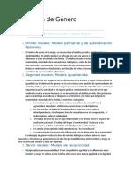 Ideología de Género - resumen de modelos por Ana Ruth Quesada B..docx