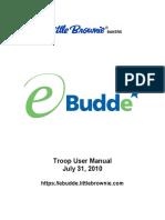 eBudde - Troop User Manual
