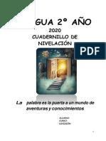 Cuadernillo Nivelacion Lengua 2ano 2018 Convertido