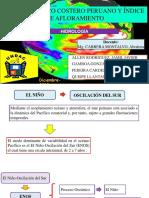 INDICE TERMICO COSTERO PERUANO Y ÍNDICE DE AFLORAMIENTO