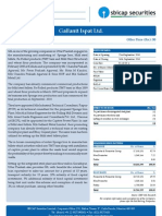 IPO Note - Gallantt Ispat Ltd