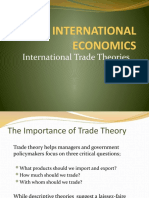 Lecture 3 Trade Theories