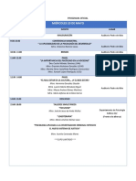 Programa Oficial i Semana de Psicologia
