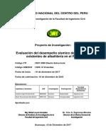 Evaluación del desempeño sísmico de viviendas existentes de albañilería en el Perú