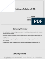 MCN 2 Hospital Software Solutions (HSS)