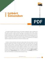 Dossiê Gilbert Simondon