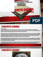 CONCRETO CANVAS (CONCRETO LONA) Oswaldo Breceño (ESTRUCTURA IV) Ceymer Lucena C.I 20176427.pptx